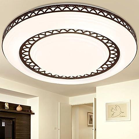 midtawer EleganteIl LedLampada da soffitto round caldo romantico ristorante decorato lampade