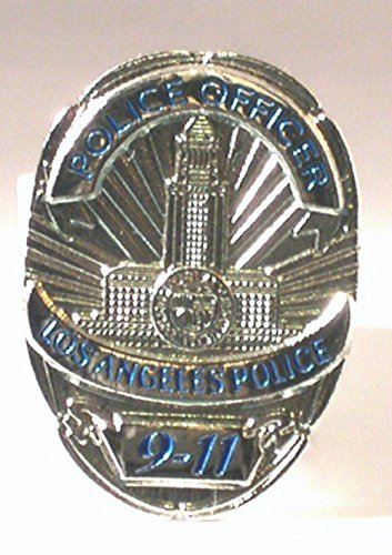Metall Emaille Pin Badge LAPD Los Angeles policeshield