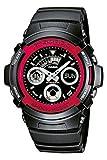 CASIO G-Shock AW-591-4AER - Reloj de mujer de cuarzo, correa de resina color negro (con alarma, luz, cronómetro)