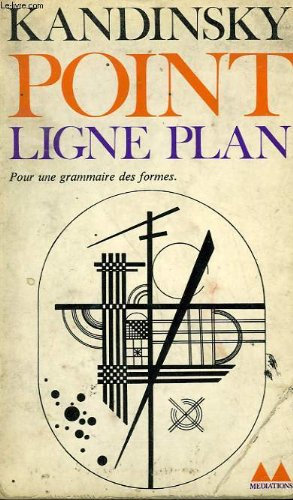 Point ligne plan. collection mediations n° 98
