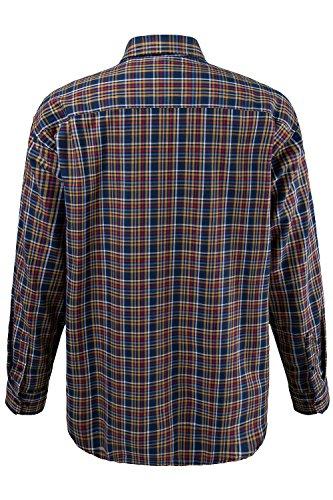 JP 1880 Herren große Größen Flanellhemd 700972 Senf