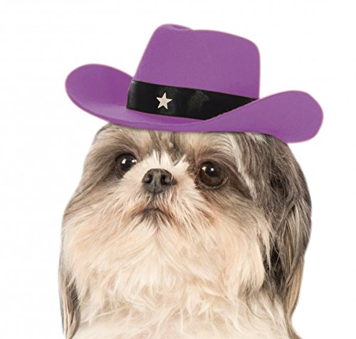 Rubies Costume Lavendel Cowgirl Hat Hund Kostüm (Hunde Cowgirl Kostüm)