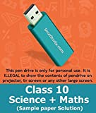 Dronstudy Class 10 CBSE Science +Mathematics Sample Paper with Solution
