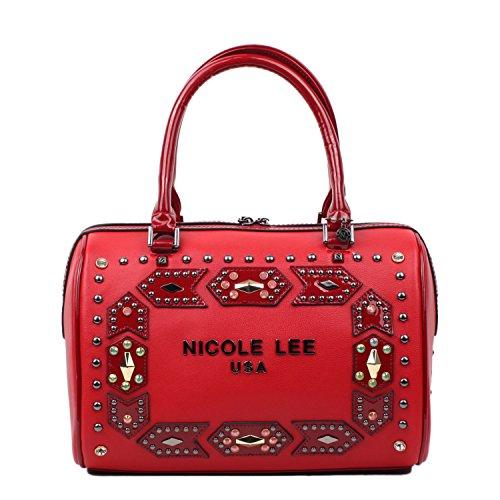 Nicole Lee, Borsa a spalla donna Red