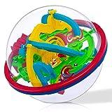 YIHAO 3D Maze Palla Labirinto Gioco di Puzzle - Rompicapo Puzzle per Adulti Bambini indipendenti Gioca Come Regali di Compleanno di Natale, Adatto a Tutte Le età