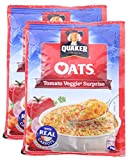 #8: Big Bazaar Combo - Quaker Oats Tomato Veggie Surprise, 40g (Pack of 2) Promo Pack