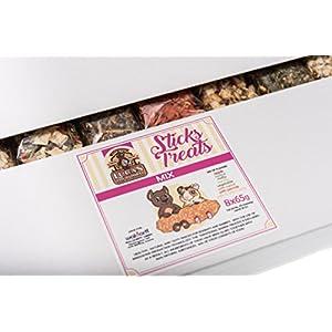 Lucas the Wombat for his Friends: Sticks Treats Snacks - Mix (ein Stück von jedem Geschmack) 8 x 65 Gr - Sparset. Leckereien für alle Nager und Kanninchen.