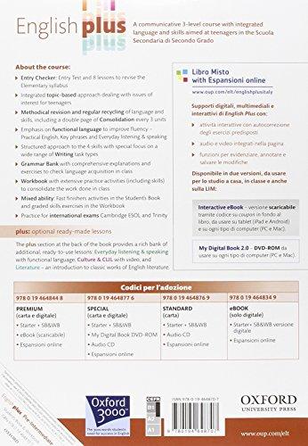 English plus. Pre-intermediate. Student's book-Workbook. Ediz. standard. Per le Scuole superiori. Con CD Audio. Con espansione online