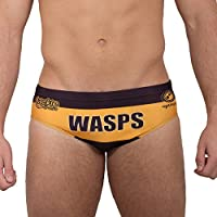 Wasps Rugby Tackle Trunks - Black/Gold