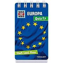 WAS IST WAS Quiz Europa: Über 100 Fragen und Antworten! Mit Spielanleitung und Punktewertung (WAS IST WAS Quizblöcke)