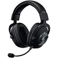 Logitech G PRO Gaming Headset 2nd Generation Comfortable and Durable with PRO-G 50 mm Audio Drivers, Aluminum, Steel and Memory Foam (for PC, PS4, Switch, Xbox One, VR), Black
