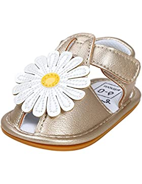 HCFKJ NiñA De La Flor Sandalias Zapato Casual Zapatillas Zapatilla Antideslizante Suave úNico NiñO