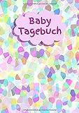 Baby Tagebuch: DinA4 Sondergröße Baby Schwangerschaft Babybauch Eltern Mann Frau Kind 9 Monate Emotionen Glück schwanger Tagebuch Herz