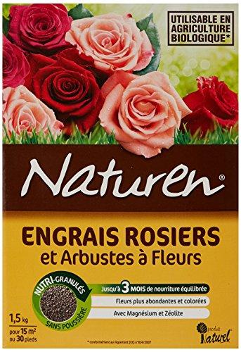 Naturen 8386 Engrais Rosiers 1,5 kg