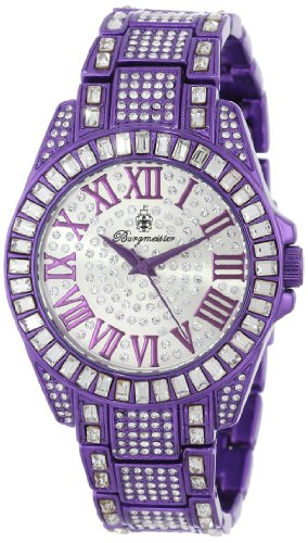 Burgmeister Armbanduhr für Damen mit Analog Anzeige, Quarz-Uhr mit Metall Armband - Wasserdichte Damenuhr mit zeitlosem, schickem Design - klassische, elegante Uhr für Frauen - BM159-010C Bollywood