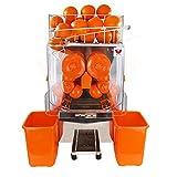 Beeketal 'Essence' Elektrische Profi Orangensaftpresse automatisch, 20 Orangen pro Minute Durchsatz, passend für Ø 40-95 mm Orangen, leicht und schnell zu reinigen, Vorratskorb für ca. 30 Orangen, Juicer inkl. Zubehör für Wartung und Pflege
