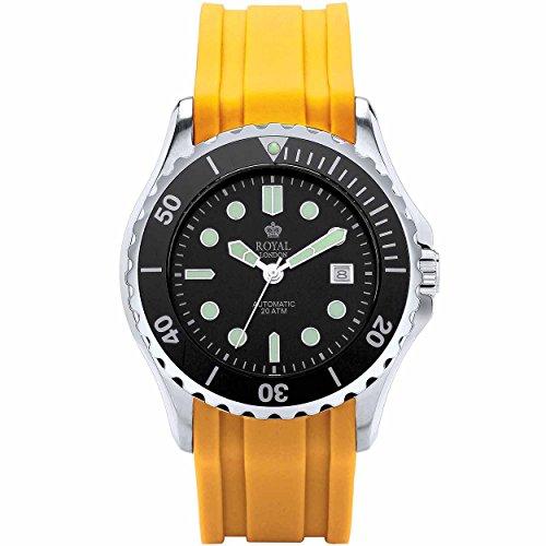 Royal London Hombre Reloj de pulsera Sport 41181–04automático