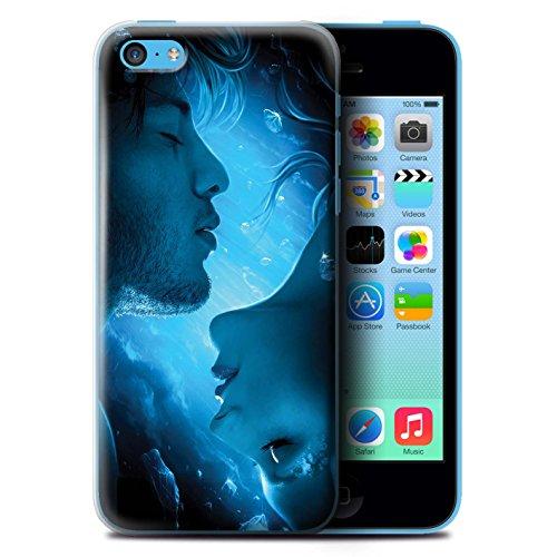 Officiel Elena Dudina Coque / Etui pour Apple iPhone 5C / Relation amicale Design / Art Amour Collection Diamants congelés