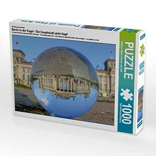 Preisvergleich Produktbild Ein Motiv aus Dem Kalender Berlin in der Kugel - Die Hauptstadt Steht Kopf 1000 Teile Puzzle Quer