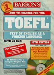 How to Prepare for the Toefl (Barron's TOEFL IBT (W/CD))