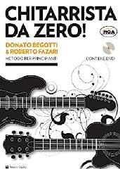 Idea Regalo - Chitarrista da zero! Metodo per principianti. Con DVD
