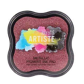 Artiste Stempelkissen - Metallic Pigment Ink Pad Berry Red