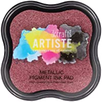 Stamp Pad - metallico inchiostro pigmentato Pad Berry