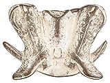Line Dance Buckle Cowboy Hut Stiefel Gürtelschnalle : Cowboy Stiefel -- Grösse ca: 8 x 6,7 cm -- für Gürtelbreite: 40 mm