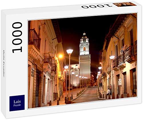 Lais Puzzle Quito Ecuador 1000 Piezas segunda mano  Se entrega en toda España