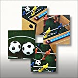 Relaxdays Mini Tischfußball Kicker – 35 x 21cm - 2