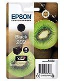 Epson 202 6.9ml 250pages Noir cartouche d'encre - Cartouches d'encre (Epson, Noir, Expression Photo XP-6000, XP-6005, 6,9 ml, 250 pages)