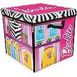 Sablon Boite de rangement et tapis de jeu Barbie Villa de rêve