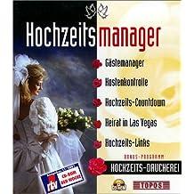 Hochzeitsmanager, 1 CD-ROM Gästemanager. Kostenkontrolle. Hochzeits-Countdown. Heirat in Las Vegas. Hochzeits-Links. Für Windows 95/98/NT/2000/ME