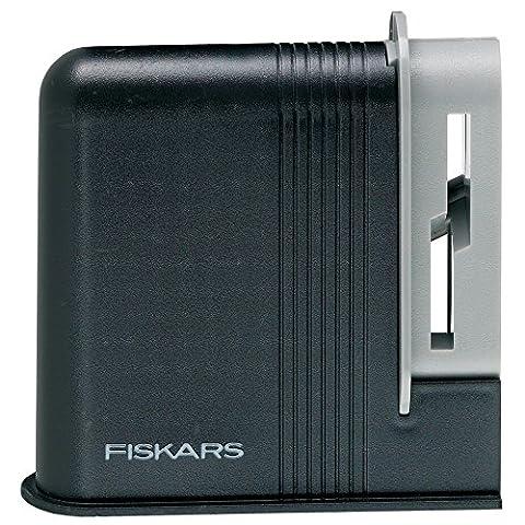 Fiskars Scherenschärfer, Gesamtlänge 4 cm, Kunststoff, Clip-Sharp, 1000812