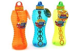 Globo Toys Globo 37676 - Jabón de 1 litro con 3 Burbujas de Verano con Varilla (Talla única)