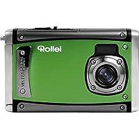 Rollei Sportsline 80 wasserdichte Digitalkamera, ideal für den Urlaub (8 Megapixel, 6,1 cm (2,4 Zoll) Farb-TFT-LCD, Full HD-Videofunktion) - Grün