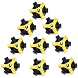 Forfar 14pcs Golf Shoe Spikes Stinger Screw Small Metal Thread For Golf Sports shoes