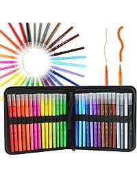 05f4990708fb5 Rotuladores de 30 colores con doble punta