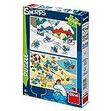 Dino giocattoli 381544Puffi seghetti puzzle di alta qualità, motivo:
