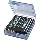 Akku-King Batterie compatible Panasonic CGA-S005 CGA-S005A CGA-S005A/1B CGA-S005E CGA-S005E/1B DMW-BCC12 DB-60 Li-Ion - 1250mAh