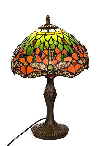 Tischlampe im Tiffany Style, Tiff 137, Tischlampe Motiv Lampe , Dekorationslampe, Tiffany Style, Glaslampe, Leuchte ,Tischlampe, Stehleuchte, Stehlampe, Leuchte Lampe
