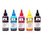 Premium Quality Refill Ink Bottles Kit for HP & Canon Inkjet printers