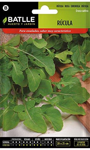 Graines aromatiques de Batlle - Salade roquette (Seeds - 10-15cm)