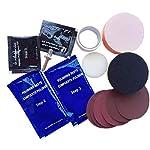 Visbella Headlight Restoration Kit DIY with Free Microfiber Cloth