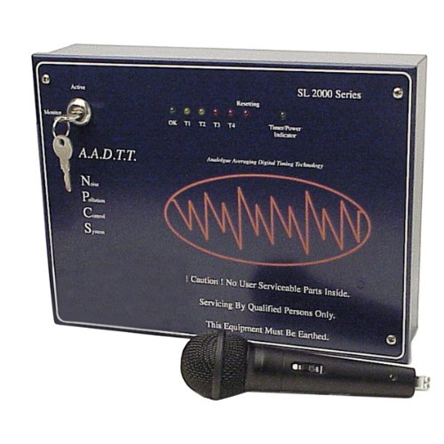 Black Noise Pollution Control System With Fire Alarm Interface und Remote-Sound-Pick-up-Mikrofon