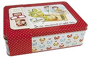 Avenue Mandarine Caja para Recuerdos, Multicolor (62414O)