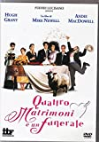 Quattro matrimoni e un funerale [IT Import]