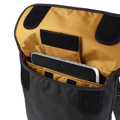 Crumpler PSST-001 Private Surprise Sling Case für Apple iPad 2/3/4 schwarz dunkelgrau/orange