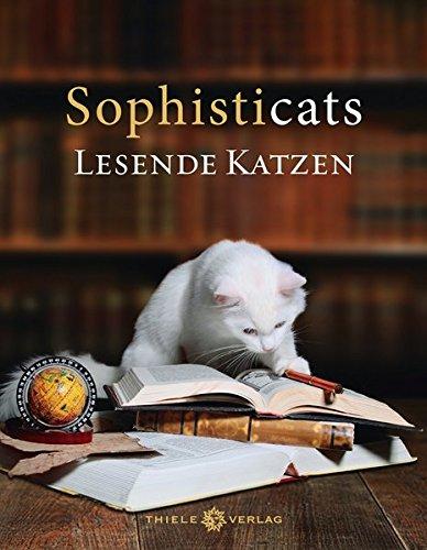 Sophisticats: Lesende Katzen -