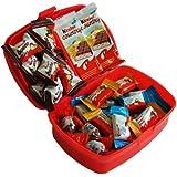 CAPTAIN PACK Geschenk Set Brotdose Schulanfang mit Ferrero Kinder Spezialitäten, 1er Pack (1 x 247 g)
